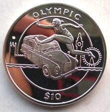 Sierra Leone 2011 Runner 10 Dollars Silver Coin,Proof