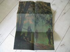 BLACK SABBATH -MASTER OF REALITY ONLY POSTER GREEN Colour FOR LP SUPERB !!!!!!!!