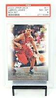 2003 Upper Deck Box Set Lakers LEBRON JAMES Rookie Card PSA 8 NM-MINT / Pop 23