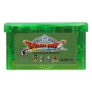 32bit Video Game Console Card Cartridge Dragon Quest Monsters Caravan Heart USA