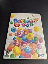 Balloon Pop UFO Nintendo Wii EX+NM condition COMPLETE!