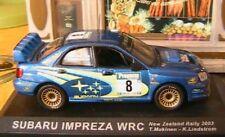 SUBARU IMPREZA WRC #8 RALLYE NEW ZEALAND 2003 1/43 MAKINEN LINDSTROM