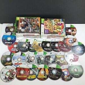 Lot of 40 Xbox 360/Original Games Assassins NBA 2K11 Dragon Age Call of Duty ++