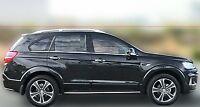 Chrom Fensterleisten 6 Teilig für Chevrolet Captiva Zierleisten Edelstahl 06-13