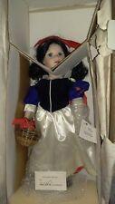 Marie Osmond Snow White porcelain doll new