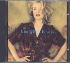 KIM WILDE - Love is - CD 1992 USATO OTTIME CONDIZIONI