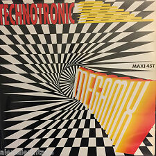"""LP/Vinyl/Maxi 45t-Technotronic 12"""" Megamix - France"""