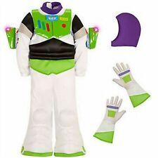 NWT Disney Store Sz 4  Light Up Buzz Lightyear Costume Toy Story NEW