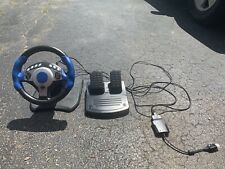 Intec Racing Steering Wheel (Xbox, Gamecube, PS2) and pedals Tested & Working