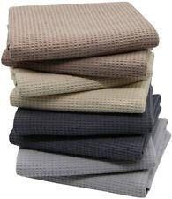 8 Pack Ultra Absorbent Quick Dry 100%Cotton Kitchen Dish Towels Cloths Tea Towel
