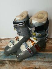 Salomon Irony 25.5 Custom Fit Sports Insulated Buckle Ski Boots Womens US 8