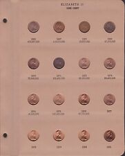 1 One 2 Two Cent Coin Collection Australia 1966-1991 2006 Supreme Dansco Album