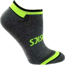 ASICS Tech No Show 6-Pack  Athletic   Socks - Grey - Mens