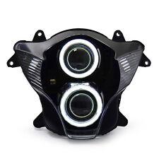 KT LED Angel Eye HID Headlight Assembly for Suzuki GSXR750 GSX-R750 2006 2007