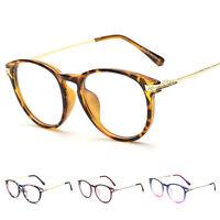 Men Women Vintage Full Rim  Clear Glasses Frame Retro Spectacles Eyewear