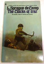 L. Sprague de Camp – The Clocks of Iraz - US 1st edition signed paperback - 1971