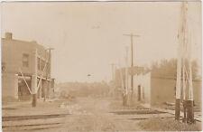 RPPC,Erie,IL.Main Street,Whiteside County,Used,c.1910