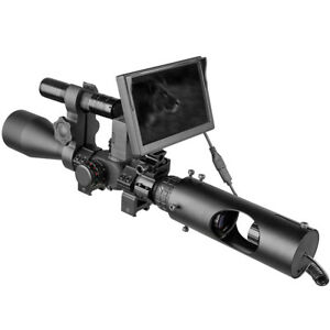 DIY Digital Night Vision Scope for riflescopes with 850nm IR LED Torch