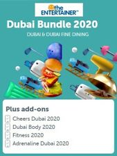 Entertainer Dubai 2020 with Fine Dining, SPA, Cheers And Hotels 7 day App Rental
