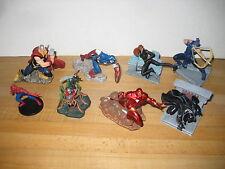 Marvel Disney Store Exclusive Avengers PVC 7 Figurine Playset 2011 Complete
