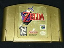 Legend of Zelda: Ocarina of Time GOLD CE (Nintendo 64) Cleaned Tested Authentic