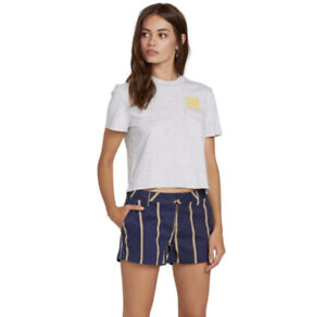 Volcom Women's Chino Frochickie Shorts New With Tags