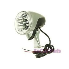 LED 12 Volt Headlight (4-bulbs) for Electric Scooter or Bicycle