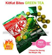 KitKat Green Tea Kit Kat Bites Nestle Wafer in Confectionery Chocolate Pack