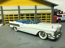 1/43 VITESSE 1958 Buick Special Conv White/Blue Int/Rubber Wide WW /Stock Caps