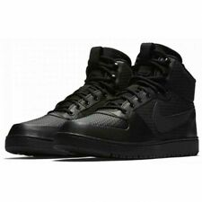 Nike Mens Court Borough Mid Winter Black Trainers AA0547 002 UK 7 EUR 41