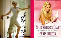 Paris Hilton Perfume #1 Promo + Your Heiress Diary 2005 MT Movie TV Photo Book