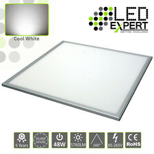 5 PACK 600x600 48w LED Panel Light 5 Year Warranty Super Bright Cool White 230v