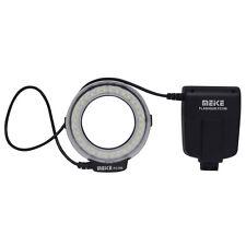 Meike MK-FC100 5500K GN15 LED Macro Ring Flash Light Kit for Sony DSLR Cameras