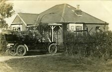 RB248 Early RP POSTCARD Humber Vintage Car - Faringdon - Posted 1910