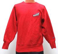 vtg IOWA STATE Champion Reverse Weave SWEATSHIRT MED warmup 90s Cyclones red M