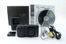 W/Box! RICOH GR Digital II 10MP Compact Camera Black from Japan [Exc #558549
