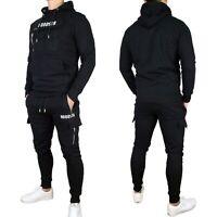 Hoodsta Men's Hooded Sweatshirt & Joggers Combo Tracksuit, BNWT