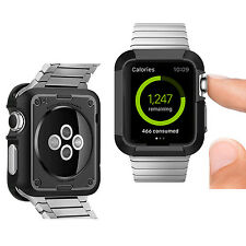HEX Full Rugged Mince Dur Case Housse De Protection Armure pour montre Apple 42 mm UK