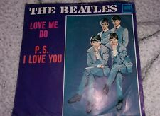 The Beatles 45 Love Me Do P.S. I Love You Tollie 45 Great Cover Condition Rare