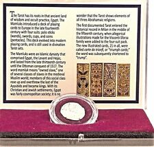 King of Pentacles:The Silver Tarot Coin in Clear Box With Story Card,Certificate