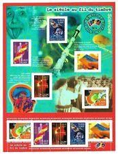 Bloc Feuillet 2001 N°39 Timbres - Le Siècle au Fil du Timbre - Sciences