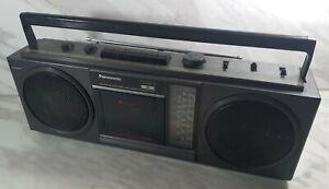 Panasonic RX-4922L Radio Cassette Recorder Radio Working Read Description