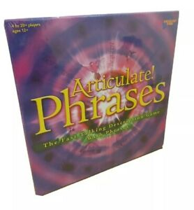 New And Sealed Articulate Phrases Boars Game By Drummond Park 2019