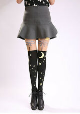 Cute Sailor Moon 20th Anniversary Moon&Star Tights Fake Over-knee Pantyhose