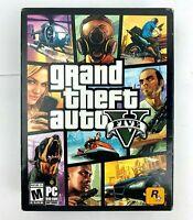 Grand Theft Auto V Five Rock Star PC Game Dvd-Rom 7 Discs Set No Code - US STOCK