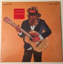 IRON & WINE BEAST EPIC LP SIGNED WITH LYRIC BOOK AND ETCHING WITH MP3 DOWNLOAD