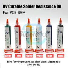 UV Curable Curing Solder Resistance Oil Repairing Paint For PCB Circuit Board
