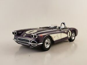 "Danbury Mint 1959 Corvette ""The Purple People Eater"" w/ Paperwork 1:24"