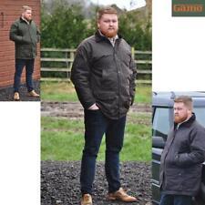 Mens GAME British Made Padded Country Wax Cotton Rain Jacket