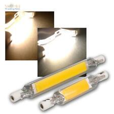 R7s LED-Leuchtmittel 78/118mm 4/7W 230V McShine, Halogenstab Ersatz für Fluter